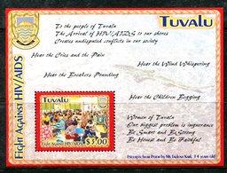 Tuvalu 2004 AIDS Awareness MS MNH (SG MS1134) - Tuvalu