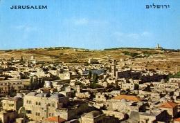 Jerusalem - View On The Old City - Formato Grande Viaggiata Mancante Di Affrancatura – E 9 - Israele