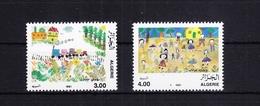 Algerien 1044-1045 ** Postfrisch Kinderzeichungen, MNH #RB820 - Algerien (1962-...)