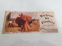 Buvard Ancien PAIN D'ÉPICES DUCHESSE DES FLANDRES DEMARCQ LILLE CAUDRY - Gingerbread