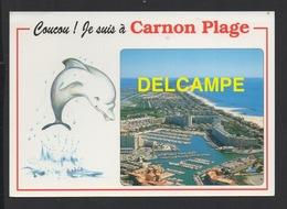 DF / 34 HÉRAULT / MAUGUIO - CARNON / CARNON-PLAGE / VUE GENERALE AÉRIENNE / 1995 - Mauguio