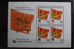 Korea Block 513 Mit 1442 ** Postfrisch Olympische Spiele #RM908 - Korea, North