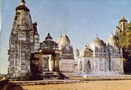 India - Jain Temples Khajuraho - Formato Grande Non Viaggiata – E 9 - India