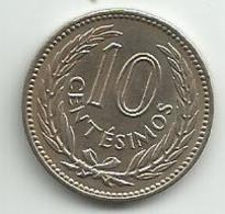 Uruguay 10 Centesimos 1953. - Uruguay