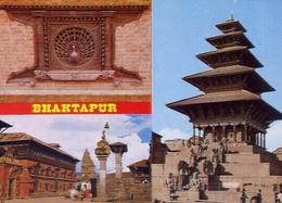 Bhaktapur - Formato Grande Non Viaggiata – E 9 - Nepal