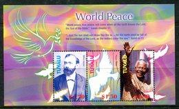 Tuvalu 2005 International Year Of Peace Sheetlet MNH (SG 1142-1144) - Tuvalu