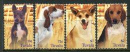 Tuvalu 2005 Dogs Set MNH (SG 1152-1155) - Tuvalu