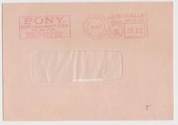 AUSTRALIA Sony Slogan Meter Postmark On, Sydney 15 Jun 1981 (C148) - Postmark Collection