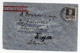 Air Mail Buenos Aires Paris Riga 1931 - Poste Aérienne