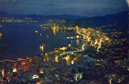 Hong Kong - With Tsinshatsui Kowloon At Night - Formato Grande Viaggiata – E 9 - Cina (Hong Kong)