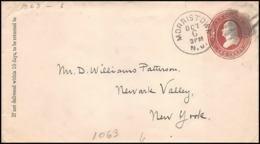 3297/ USA Entier Stationery Enveloppe (cover) 1885 - Postwaardestukken