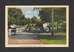 STRATFORD - ONTARIO - LAKESIDE PARK - BY PECO - Ontario
