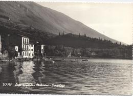 MALCESINE VERONA Cartolina Viaggiata 1959 Lungolago - Verona