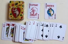 Mini Jeu De 54 Cartes Vintage Elephant Playing Cards Shangaï - 54 Cards