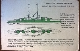 NAVI DA GUERRA DELLA MARINA ITALIANA - Guerra