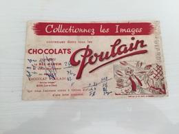 Buvard Ancien CHOCOLAT POULAIN BLOIS - Chocolat