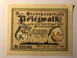 Allemagne Notgeld Pritzwalk 1 Mark 50 - Verzamelingen