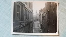 PHOTO ORIGINALE 1931 ORLEANS RUE DU HERON NOTRE DAME DE RECOUVRANCE - Places