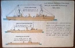 NAVI ITALIANE PRIMA GUERRA MONDIALE - Guerra