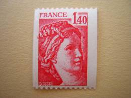 FRANCE /  N° 2104  NEUF** - 1977-81 Sabine De Gandon