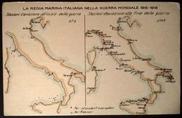 STAZIONI DI AVIAZIONE GUERRA 1915-18 - Guerra
