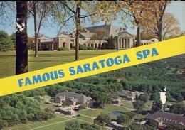 Famous Saratoga Spe - New York - Formato Grande Non Viaggiata – E 9 - Cartoline