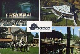 Saratoga Performing - Arts Center - Saratoga Springs - New York - Formato Grande Non Viaggiata – E 9 - Cartoline