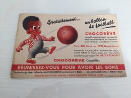 Buvard Ancien CHOCOLAT CHOCOREVE - Chocolat