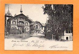 Gruss Aus Waldhaus 1905 Postcard Mailed - BE Berne
