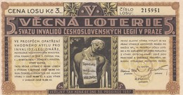 Czech Republic , 1936 ; Lottery Ticket - Czech Republic