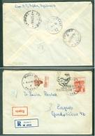 Yugoslavia 1963 Ambulance Bahnpost Railway Mail Post Ljubljana - Beograd 12 C From Rijeka Over Ljubljana To Zagreb - 1945-1992 Socialist Federal Republic Of Yugoslavia