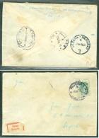Yugoslavia 1965 Ambulance Bahnpost Railway Mail Post Sezana - Beograd 3 C From Rijeka Over Ljubljana To Zagreb - 1945-1992 Socialistische Federale Republiek Joegoslavië