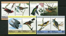 Tuvalu - Niutao 1985 John J. Audubon - Birds Set MNH - Tuvalu
