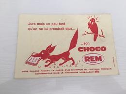 Buvard AncIen BISCUITS CHOCO REM REIMS - Sucreries & Gâteaux