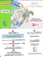 BURKINA FASO - Open On The World, Telemob By Onatel Prepaid Card 5000 FCFA(1101), No Exp.date, Used - Burkina Faso