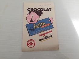 Buvard AncIen CHOCOLAT LAITTA DELESPAUL - Chocolat