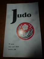 1959 JUDO : Le DECATHLON MODERNE ; Etc - Sport