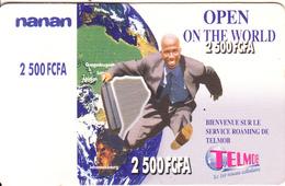 BURKINA FASO - Open On The World, Telemob By Onatel Prepaid Card 2500 FCFA(*100*), Exp.date 08/10/10, Used - Burkina Faso