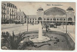 Suisse // Schweiz // Switzerland //  Bâle-Ville  //  Basel, Bundesbahnhof - BS Bâle-Ville