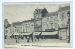 Sint Niklaas St Nikolaas Groote Markt ( DVD 13349 ) - Sint-Niklaas