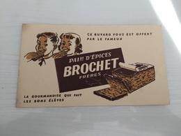 Buvard Ancien PAIN D'ÉPICES BROCHET FRÈRES - Pain D'épices