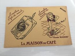 Buvard Ancien CHOCOLAT MAISON DU CAFÉ - Chocolat