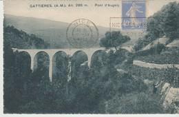 CPA - GATTIERES - PONT D'AUGELY - A. D. I. A. - France