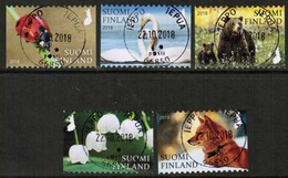 2018 Finland, Nature Signs I, Complete Fine Used Set. - Finnland
