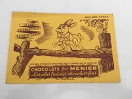 Buvard Ancien CHOCOLAT MENIER - Chocolat