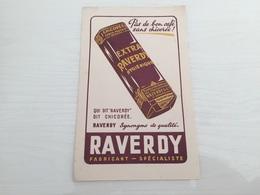 Buvard Ancien CHICORÉE RAVERDY - Chocolat