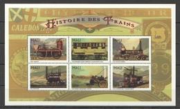 A719 MALI TRANSPORT HISTORIES DES TRAINS 1KB MNH - Trains