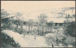 Winter Scene, Near Sherbrooke, Quebec, C.1910 - Fraser's Drug Store Postcard - Sherbrooke