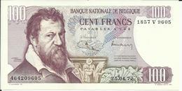 BELGIQUE , 100 Francs , Type Lombard , N° World Paper Money : 134 B , Etat TTB++ - [ 2] 1831-... : Royaume De Belgique