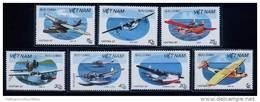 Vietnam Viet Nam MNH Perf Stamps 1987 : International Philatelic Exhibition / Hydroplanes / Airplane (Ms534) - Vietnam
